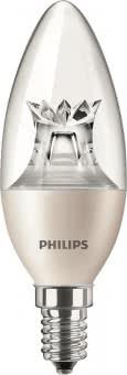 Philips MST LEDcandle 8-60W/827