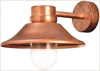 KONS LED-Wandleuchte Kupfer IP54 412-900