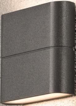 KONS LED-Fassadenleuchte 2x6W 7972-370