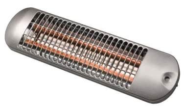 AKO Quarzstrahler BS 1201 S silber